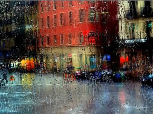 Rain in the City by connie