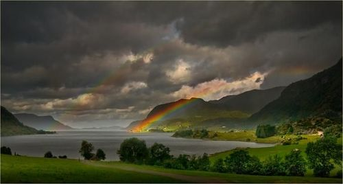 Double Rainbow by Wim Lassche by tone