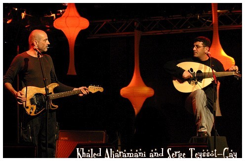 Khaled Aljaramani and Serge Teyssot-Gay