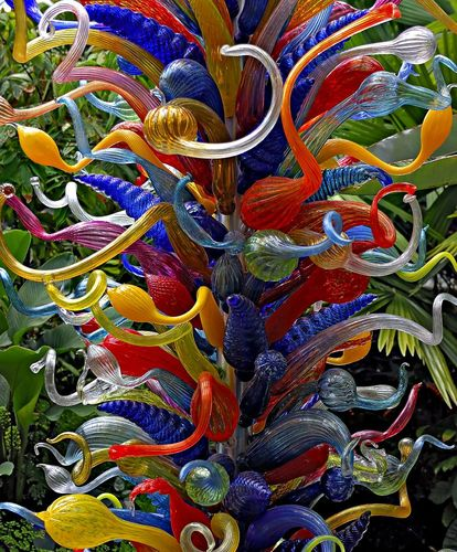 DALE CHIHULY EXHIBIITON at the Fairchild Tropical Botanic Garden Coral Gables, FL by jacksp