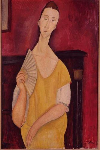 Modigliani_femme a l eventail