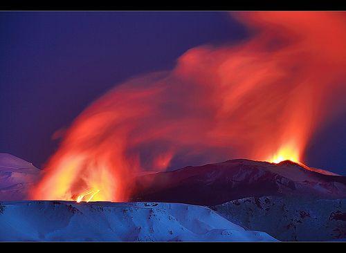 Islande_Lava River - Eyjafjallajökull…