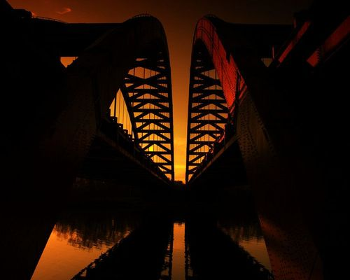 Bridges_Twin Bridges - Latham, New York - Neil Shapiro by connie