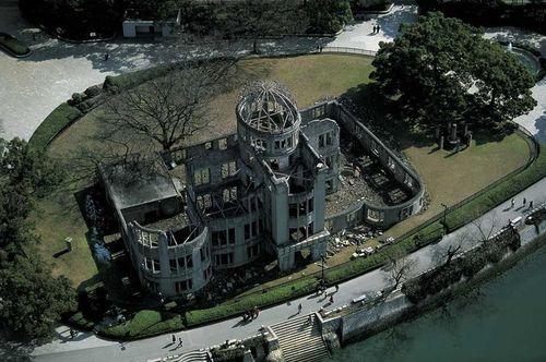 Epicentre de la Bombe atomique à Hiroshima, Japon