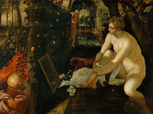 Suzanne et les vieillards-Tintoret