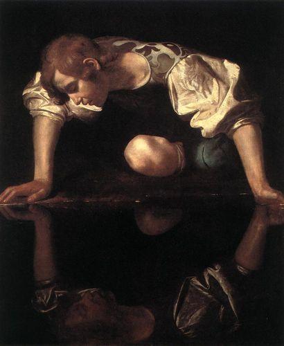 Caravaggio Narcissus