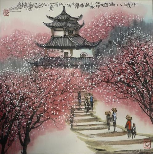 Traditional asiatic painting7