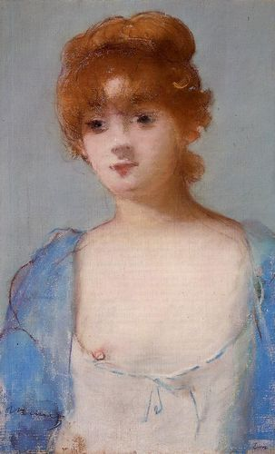 Manet,%20Jeune%20femme%20en%20d%E9shabill%E9,%20Young%20Woman%20in%20a%20Negligee,%201882,%20Pastel%
