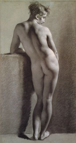 Proud-hon_Pierre_Paul_Standing_Female_Nude_Seen_from_the_Back