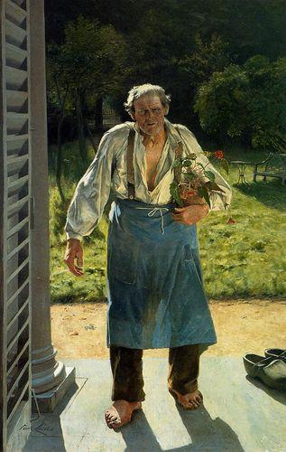 Emile_Claus_-_The_Old_Gardener