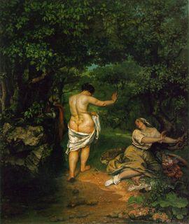Courbet_Bathers_1853_Les Baigneuses